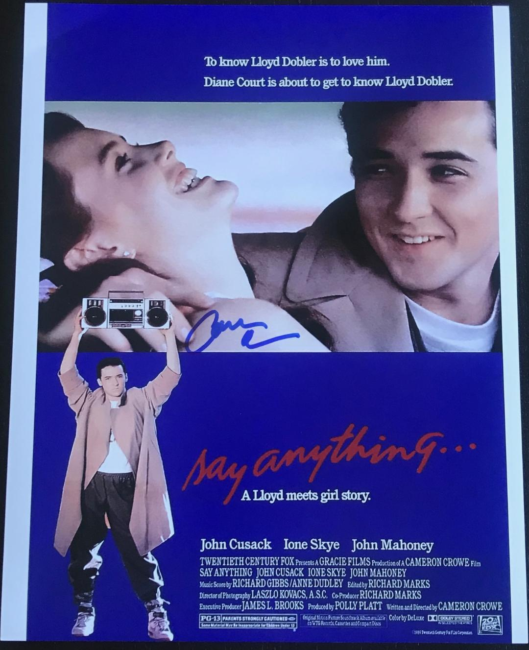 Cameron Crowe Signed 11x14 Photo