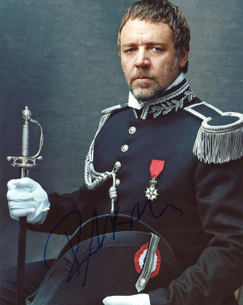 Russell Crowe Signed Photo