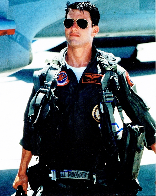 tom cruise top gun. TOM CRUISE - Top Gun AUTOGRAPH