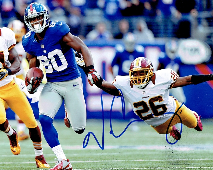 Victor Cruz Signed Photo