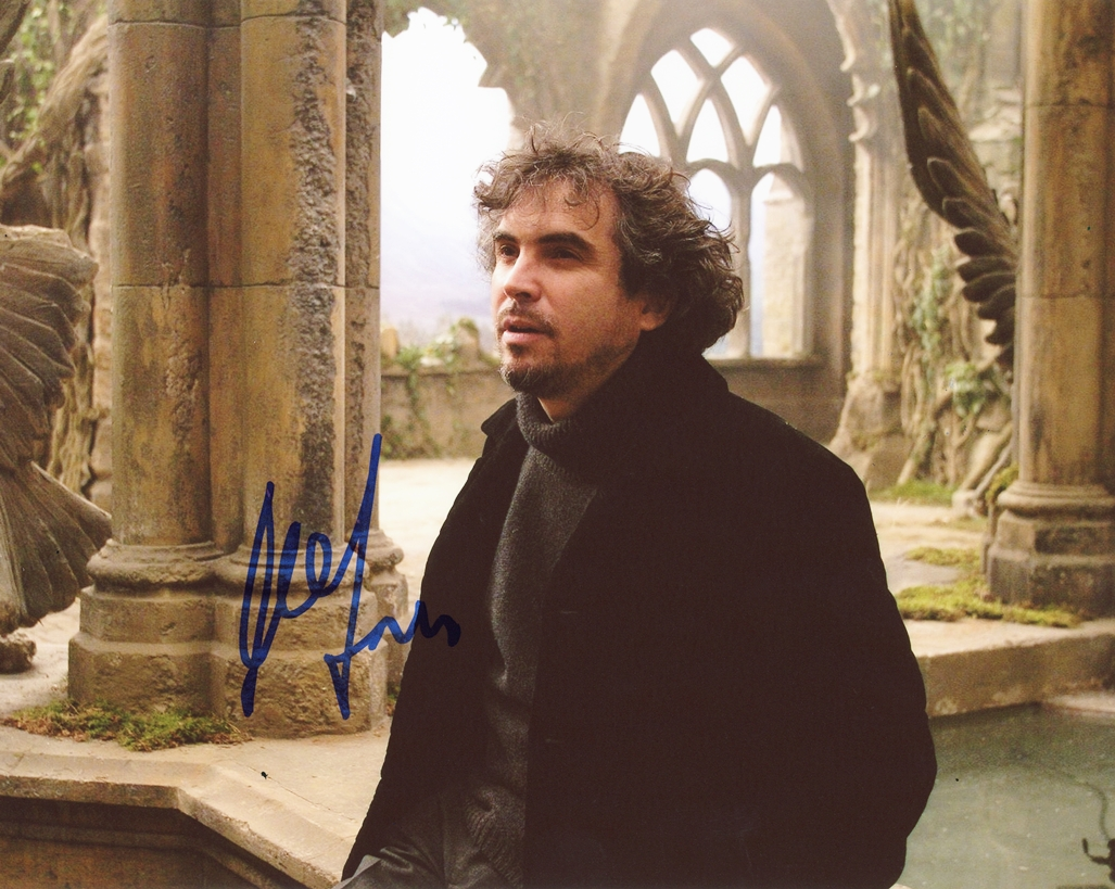 Alfonso Cuaron Signed Photo