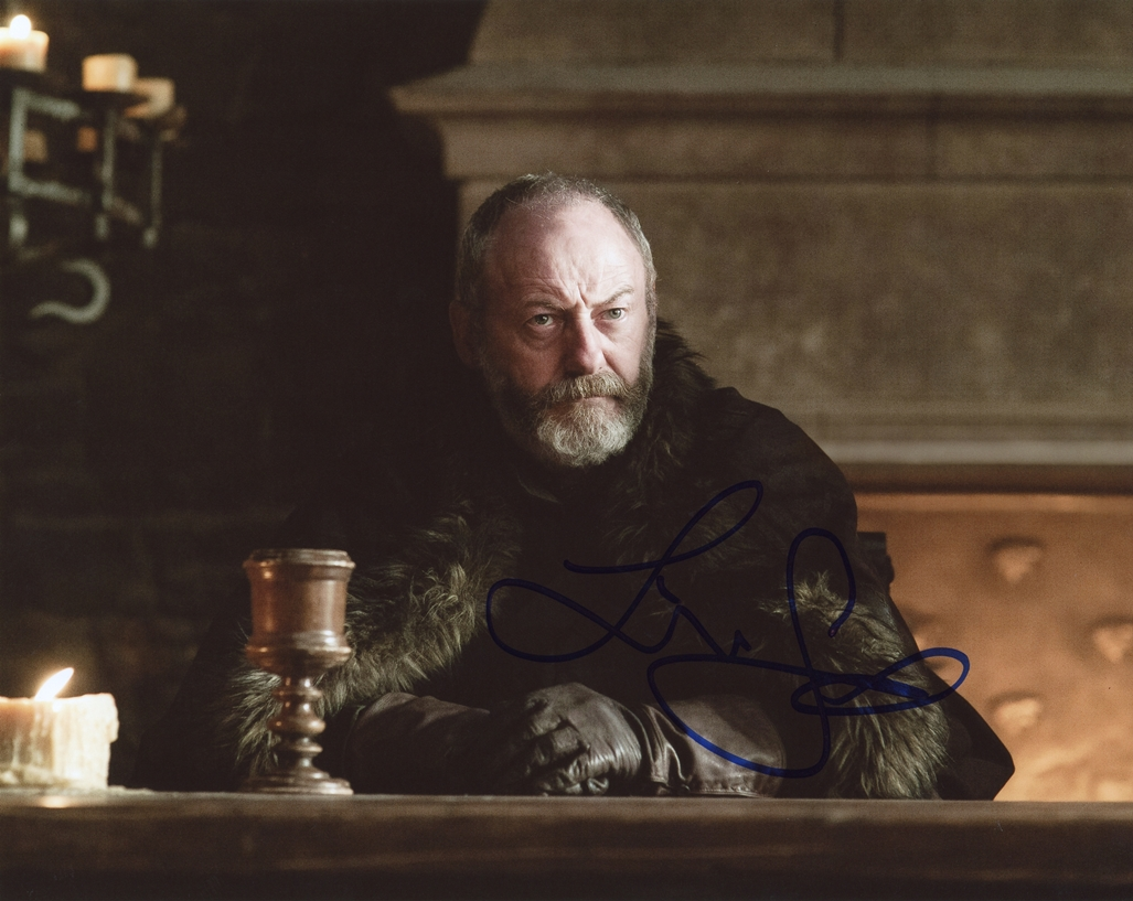 Liam Cunningham Signed Photo
