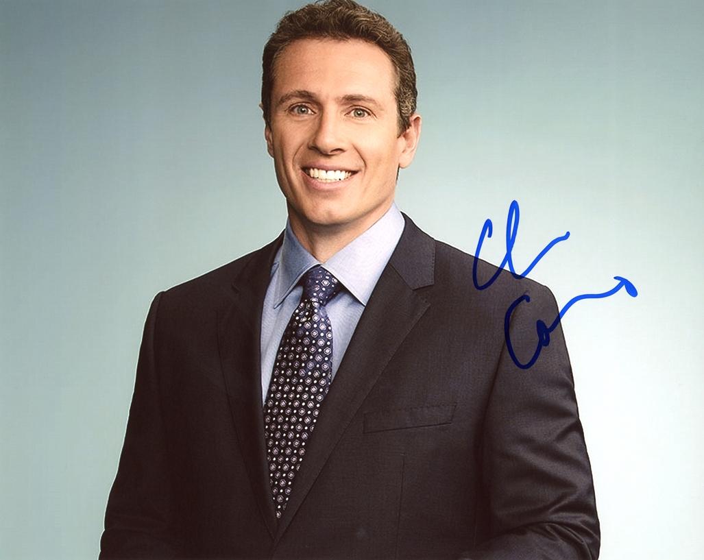 Chris Cuomo Signed Photo