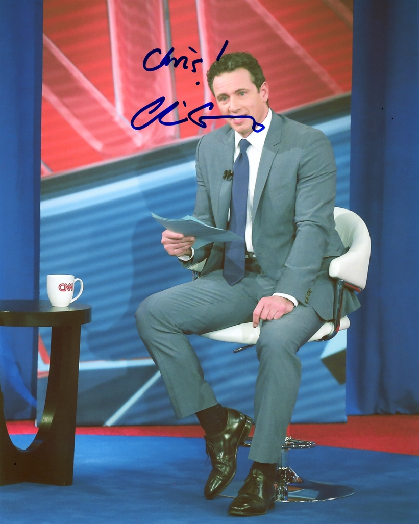 Chris Cuomo Signed Photo