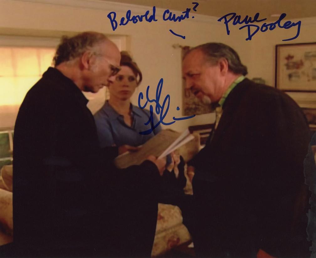 Paul Dooley & Cheryl Hines Signed Photo