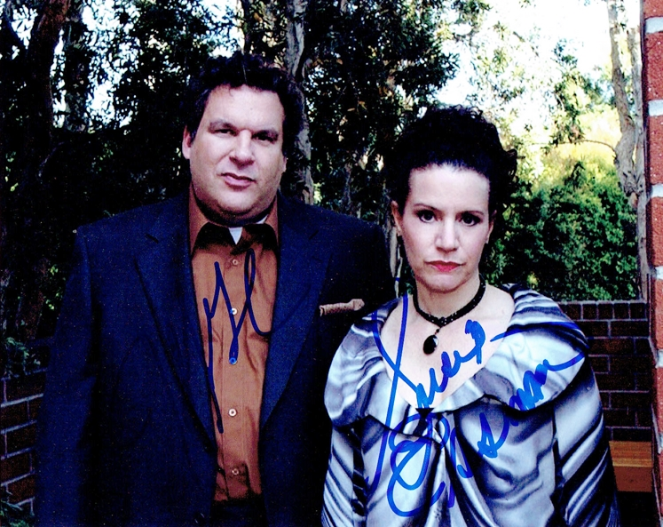 Jeff Garlin & Susie Essman Signed Photo