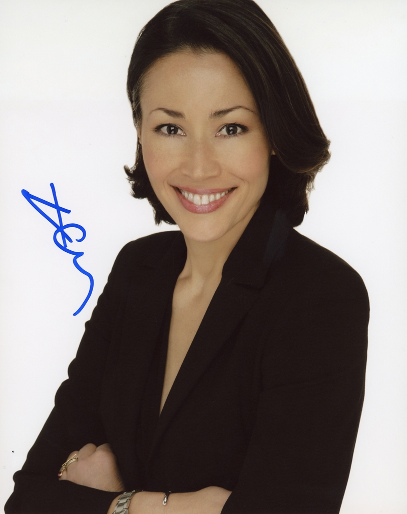 Ann Curry Signed Photo