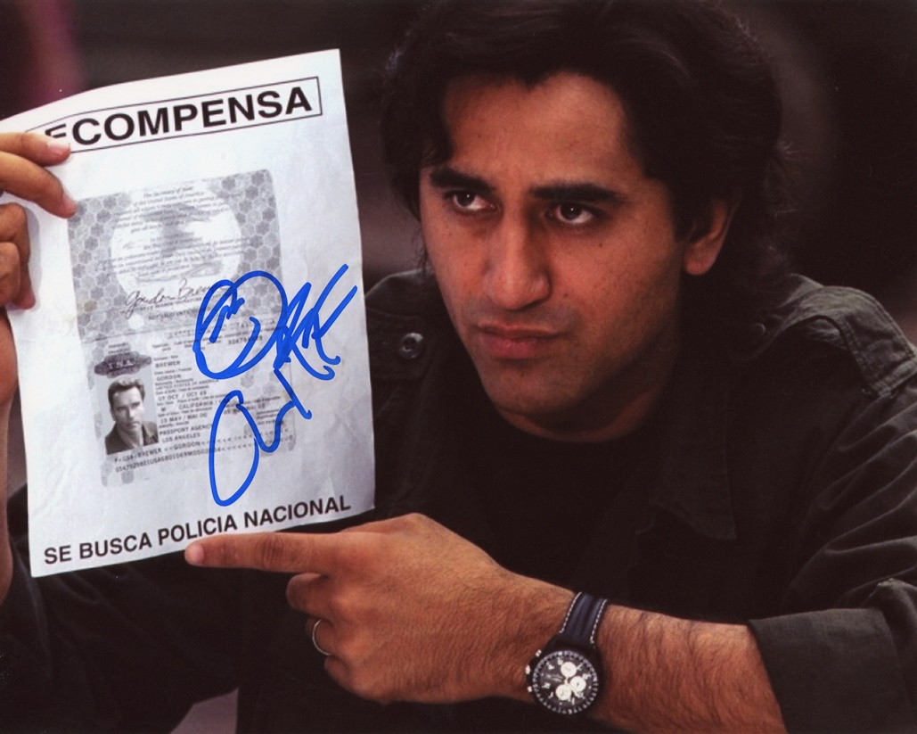 Cliff Curtis Signed Photo