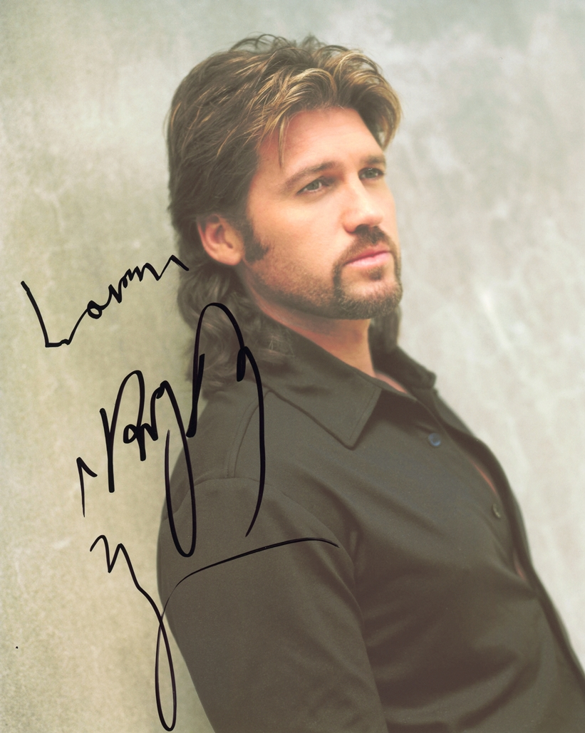 Billy Ray Cyrus Signed Photo