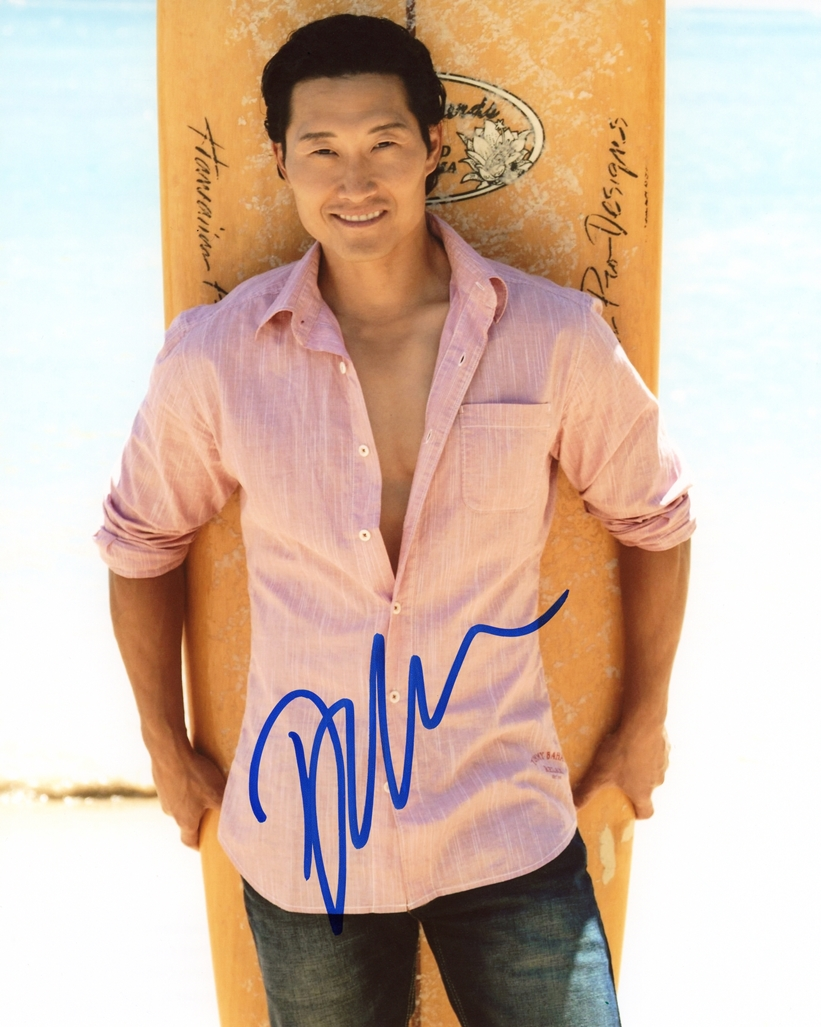 Daniel Dae Kim Signed Photo