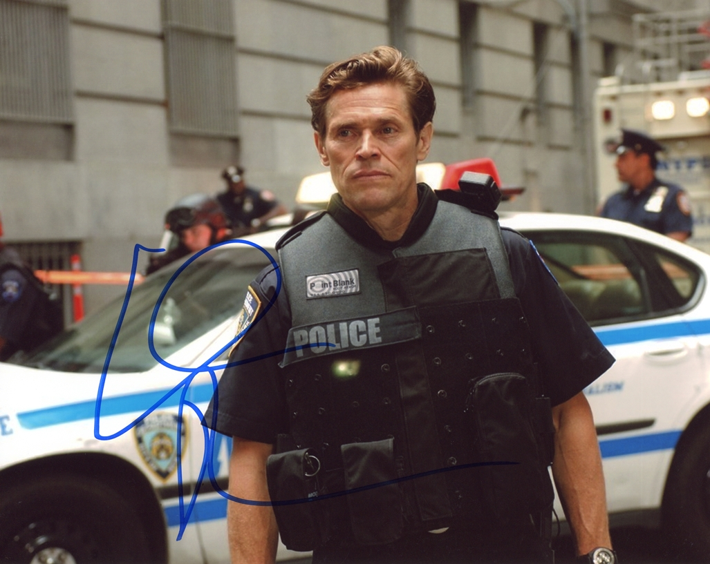 Willem Dafoe Signed Photo