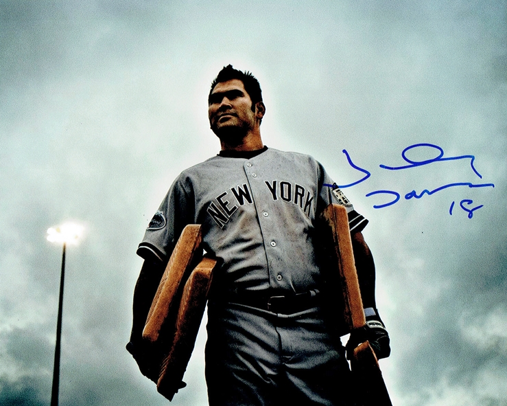 Johnny Damon Signed Photo