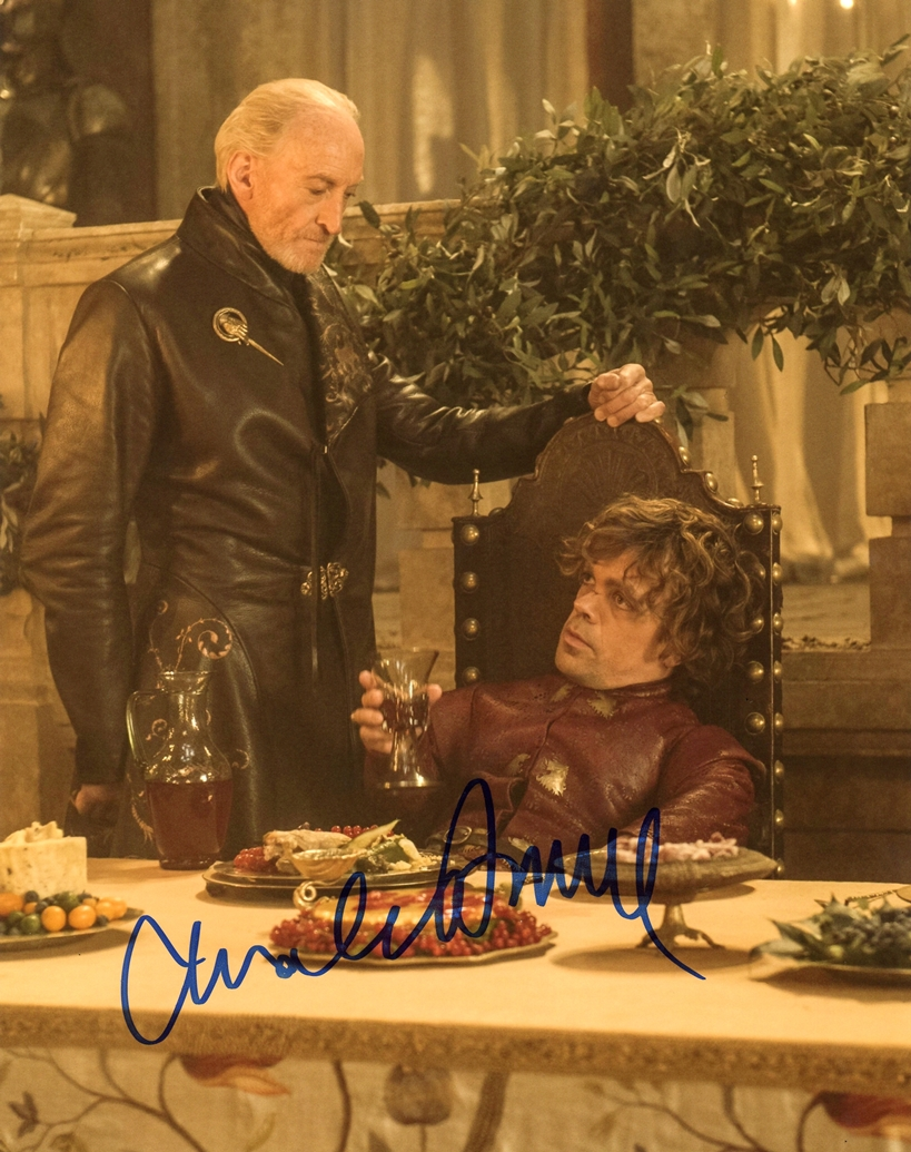 Charles Dance Signed Photo