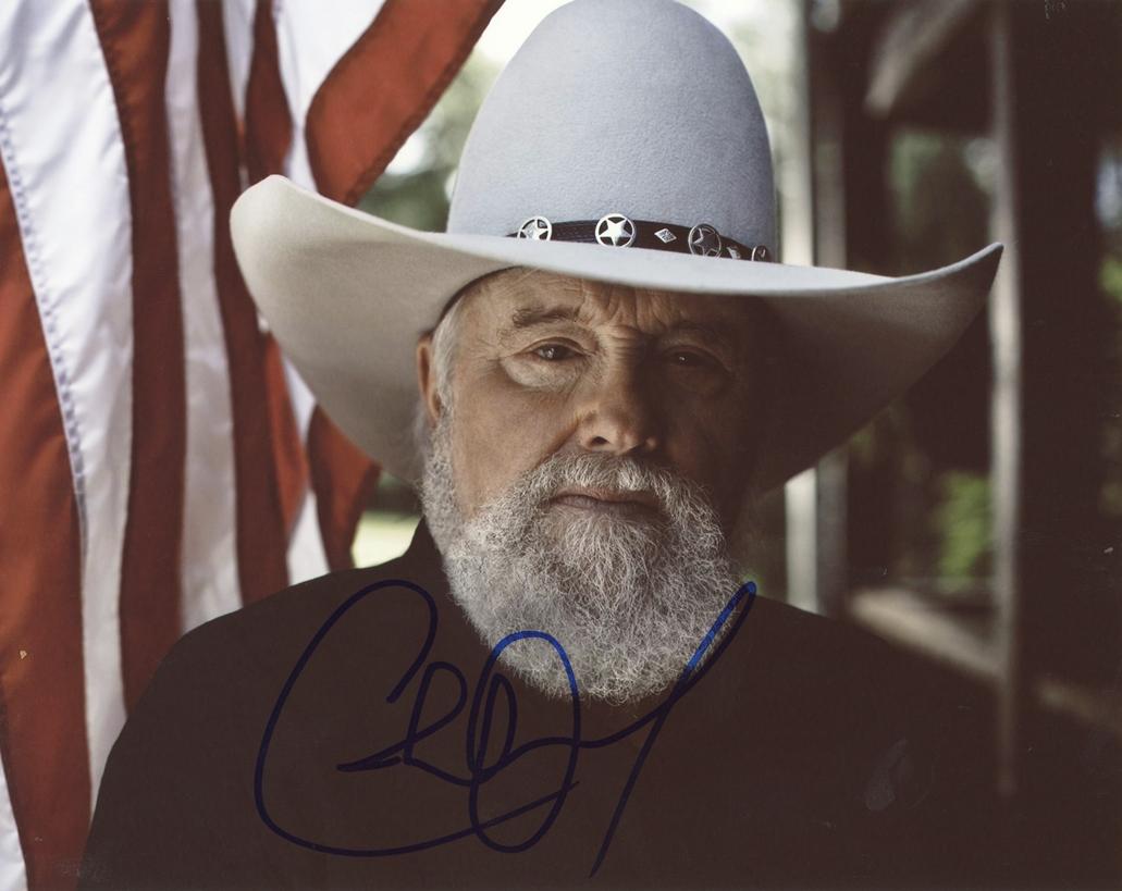 Charlie Daniels Signed Photo
