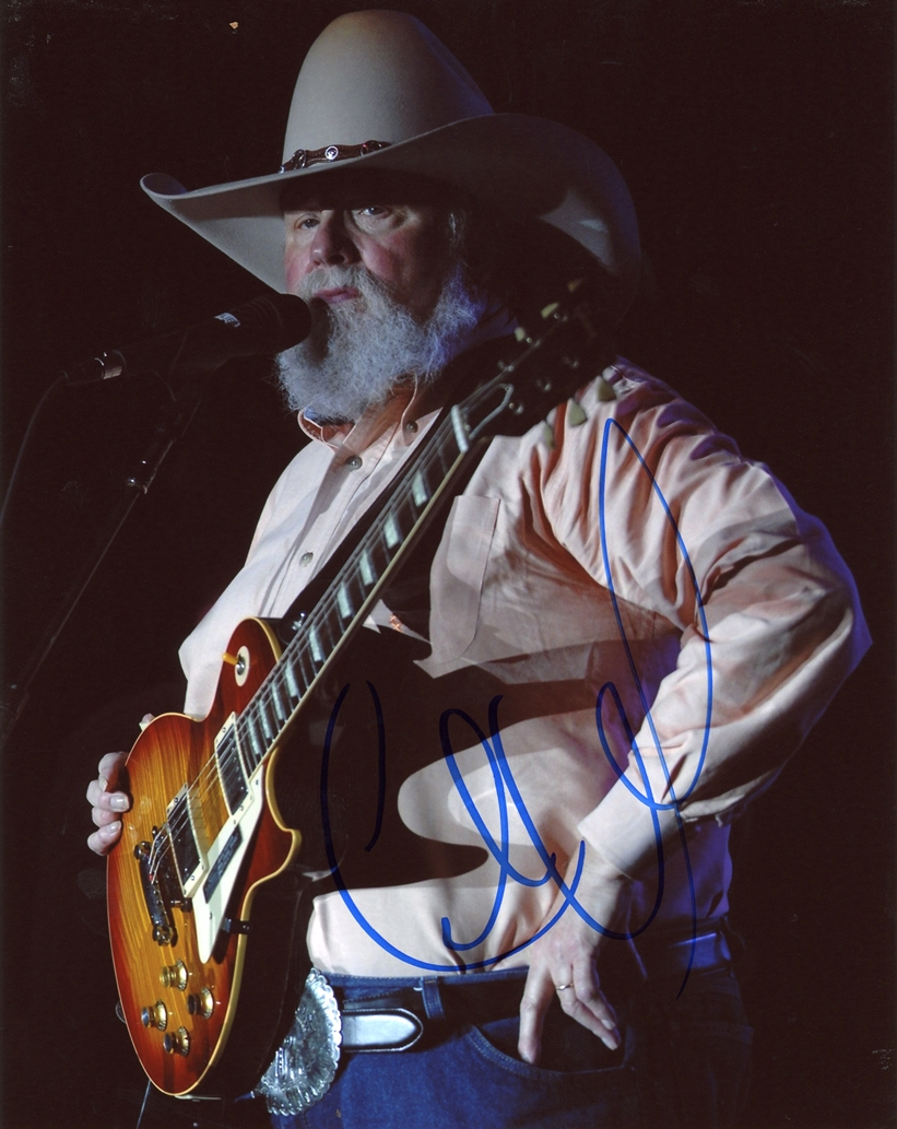 Charlie Daniels Signed Photo