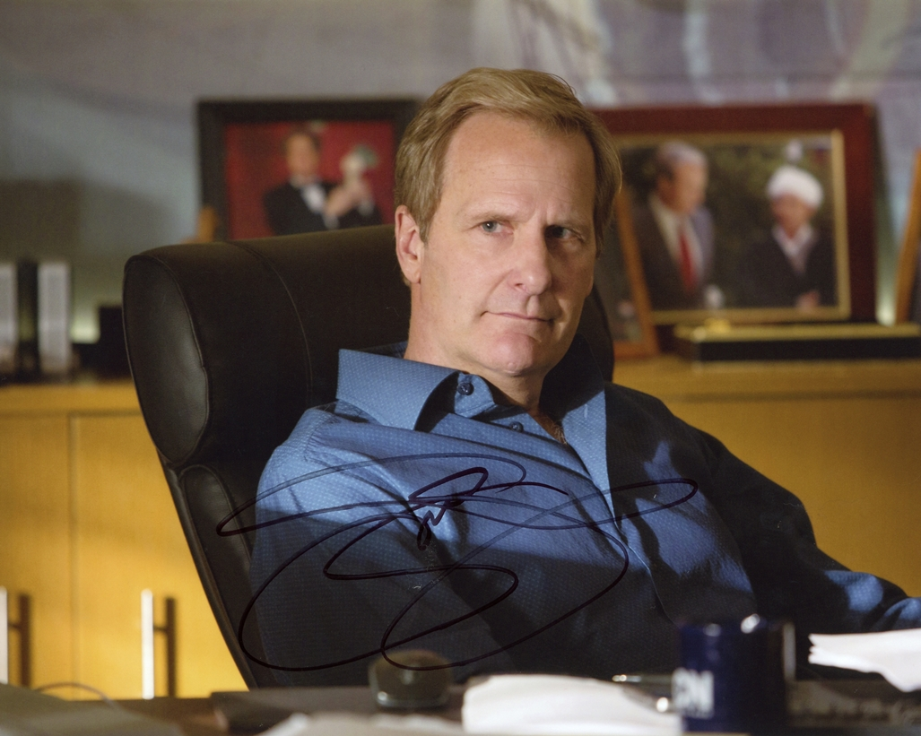 Jeff Daniels Signed Photo