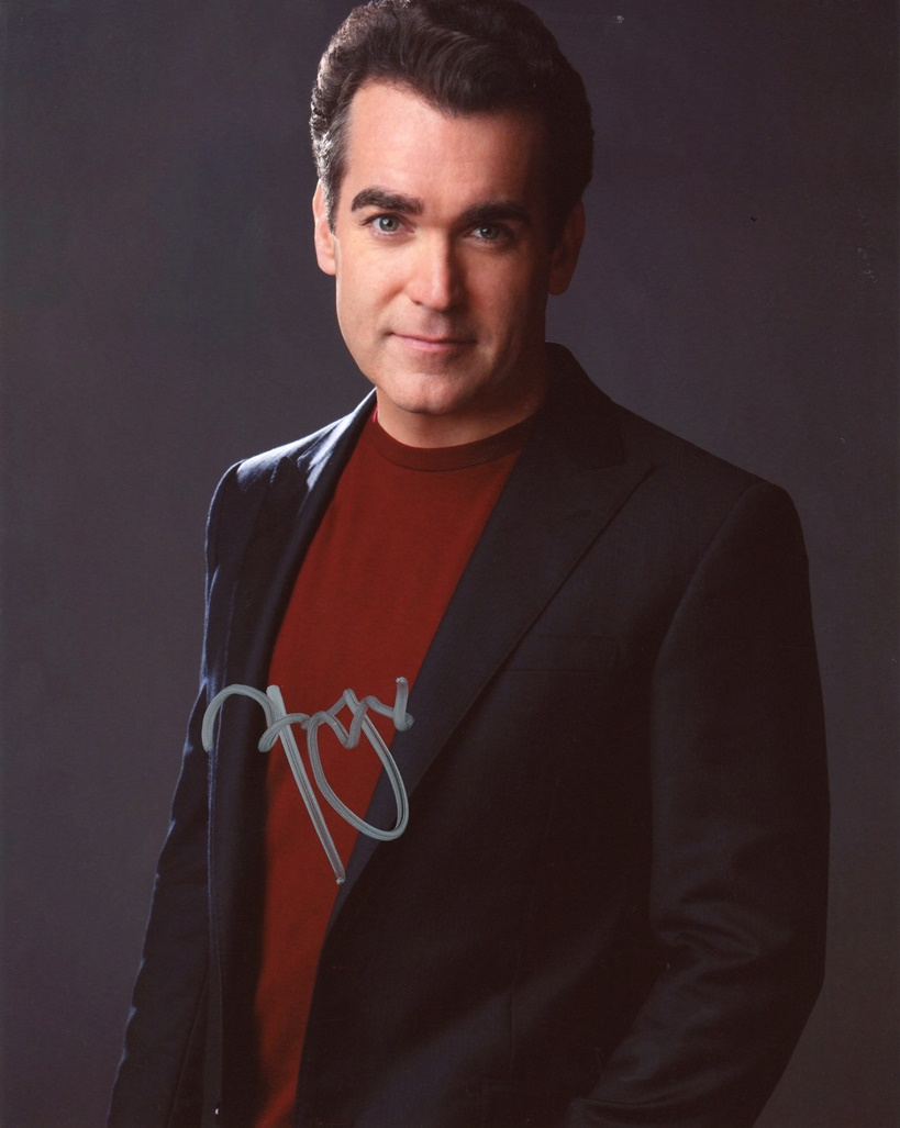 Brian D'Arcy James Signed Photo