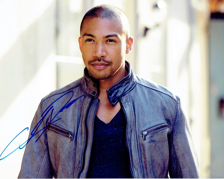 Charles Michael Davis Signed Photo