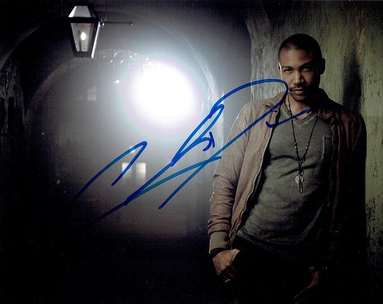 Charles Michael Davis Signed Photo