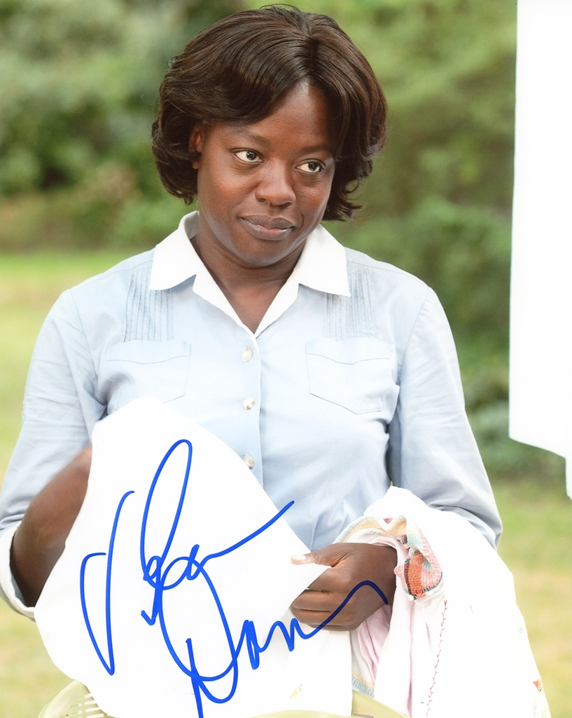 Viola Davis Signed Photo