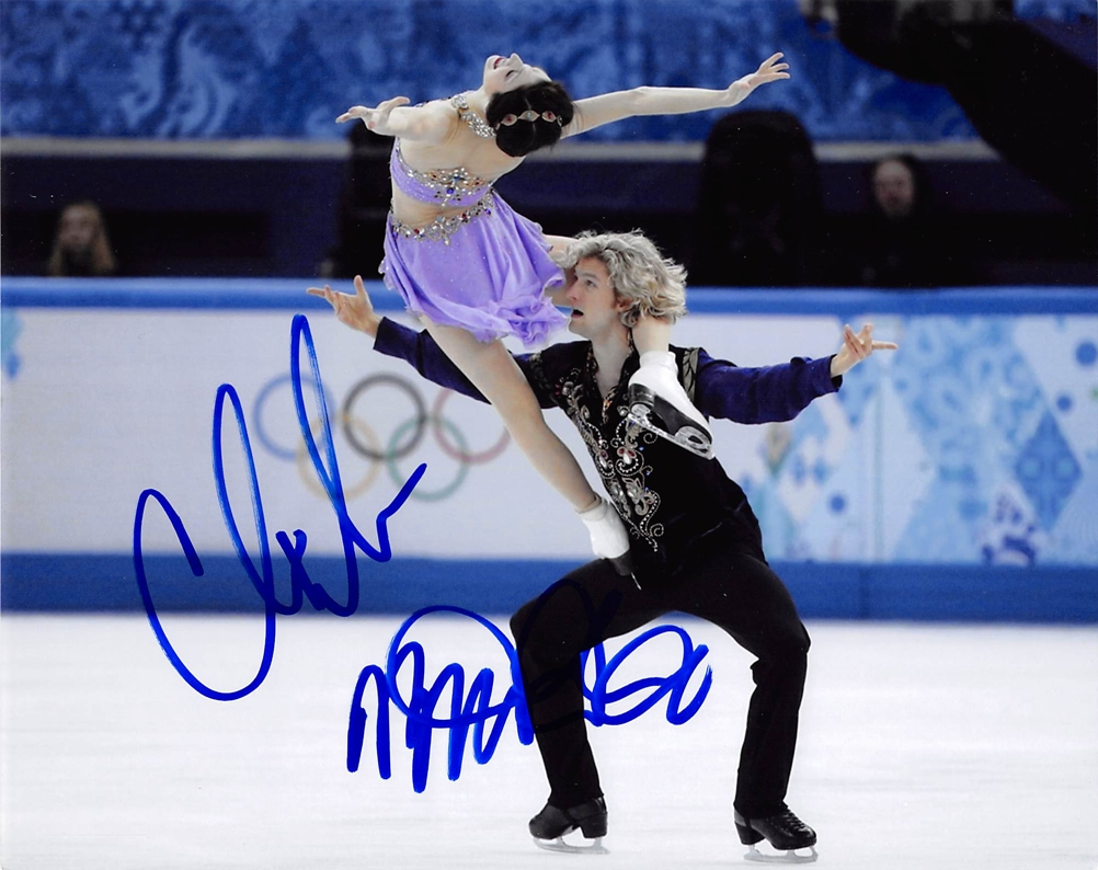 Meryl Davis & Charlie White Signed Photo
