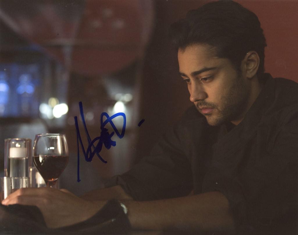 Manish Dayal Signed Photo
