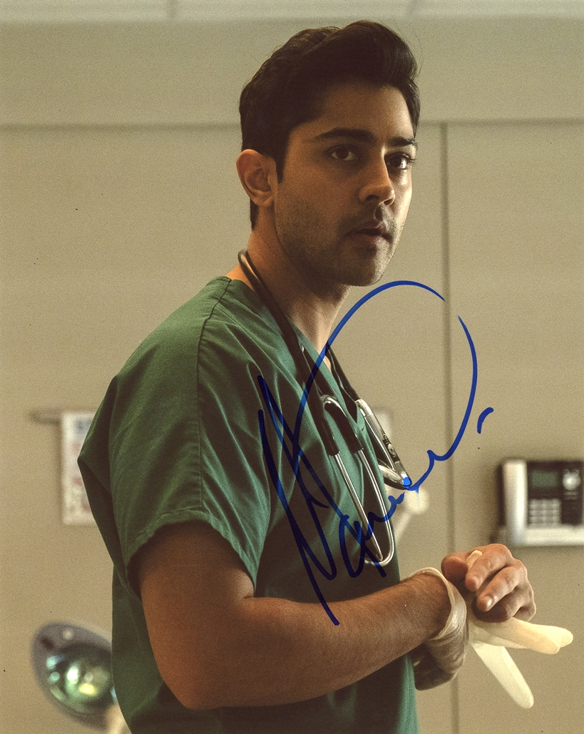 Manish Dayal Signed Photo