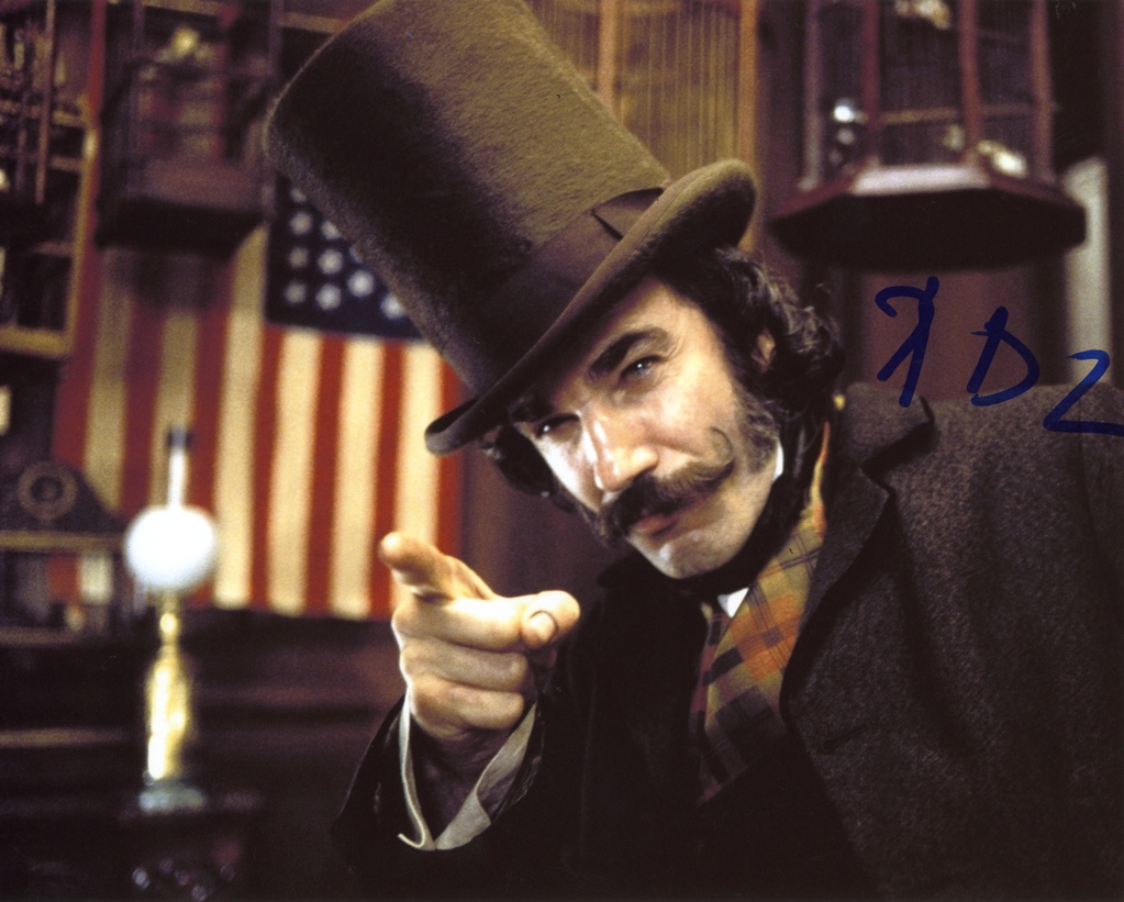 Daniel Day-Lewis Signed Photo