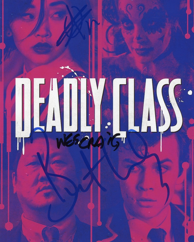 Deadly Class Signed Photo