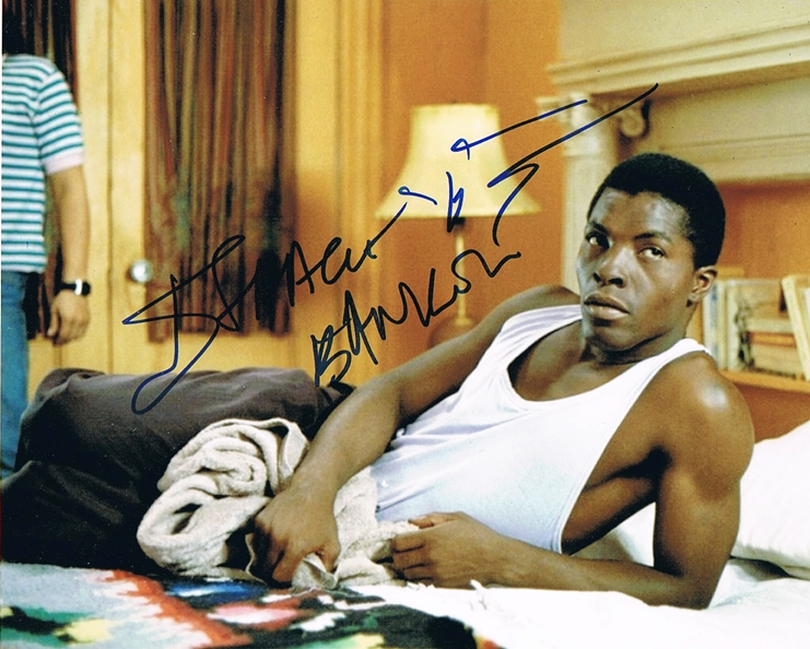 Isaach De Bankole Signed Photo