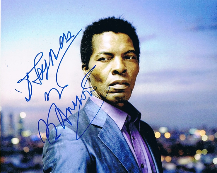 Isaach De Bankole Signed Photo