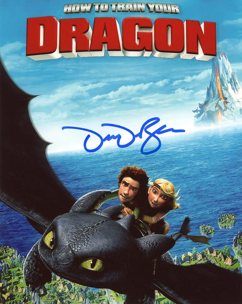 Dean DeBlois Signed Photo
