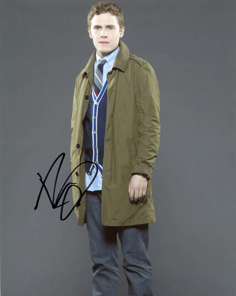 Iain De Caestecker Signed Photo