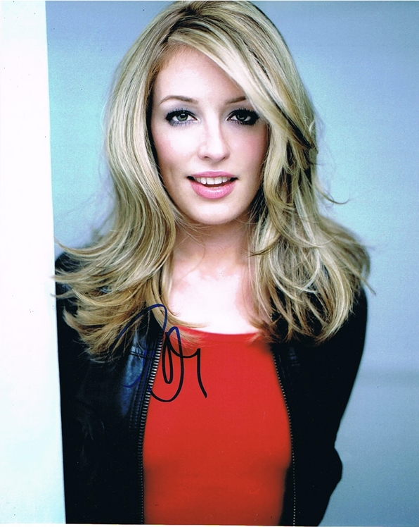 Cat Deeley Signed Photo