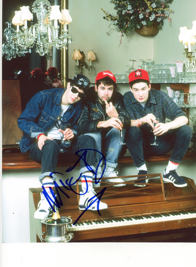 Mike D Signed Photo