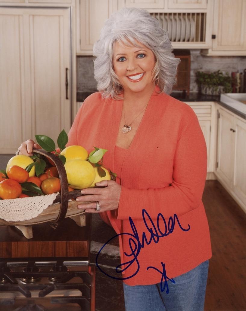 Paula Deen Signed Photo