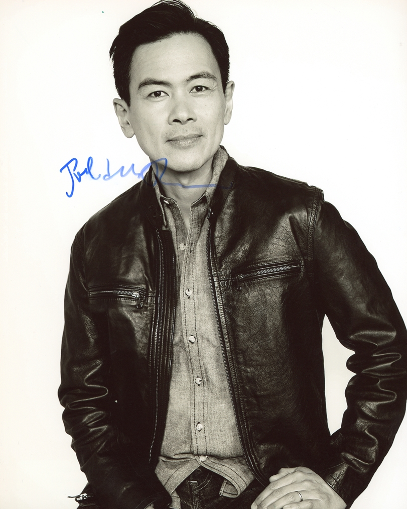 Joel de la Fuente Signed Photo