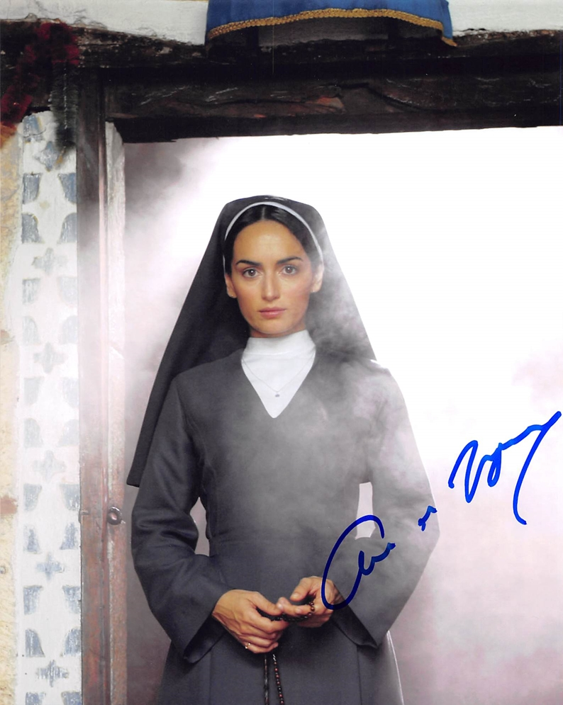 Ana de la Reguera Signed Photo