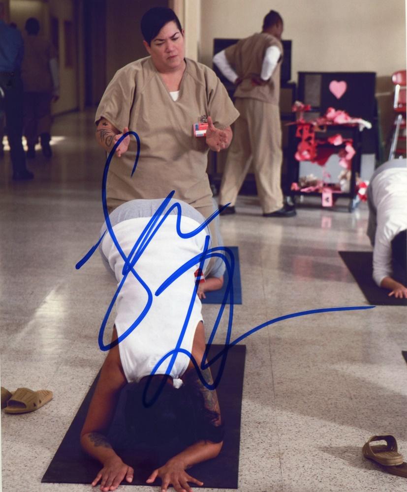 Lea DeLaria Signed Photo