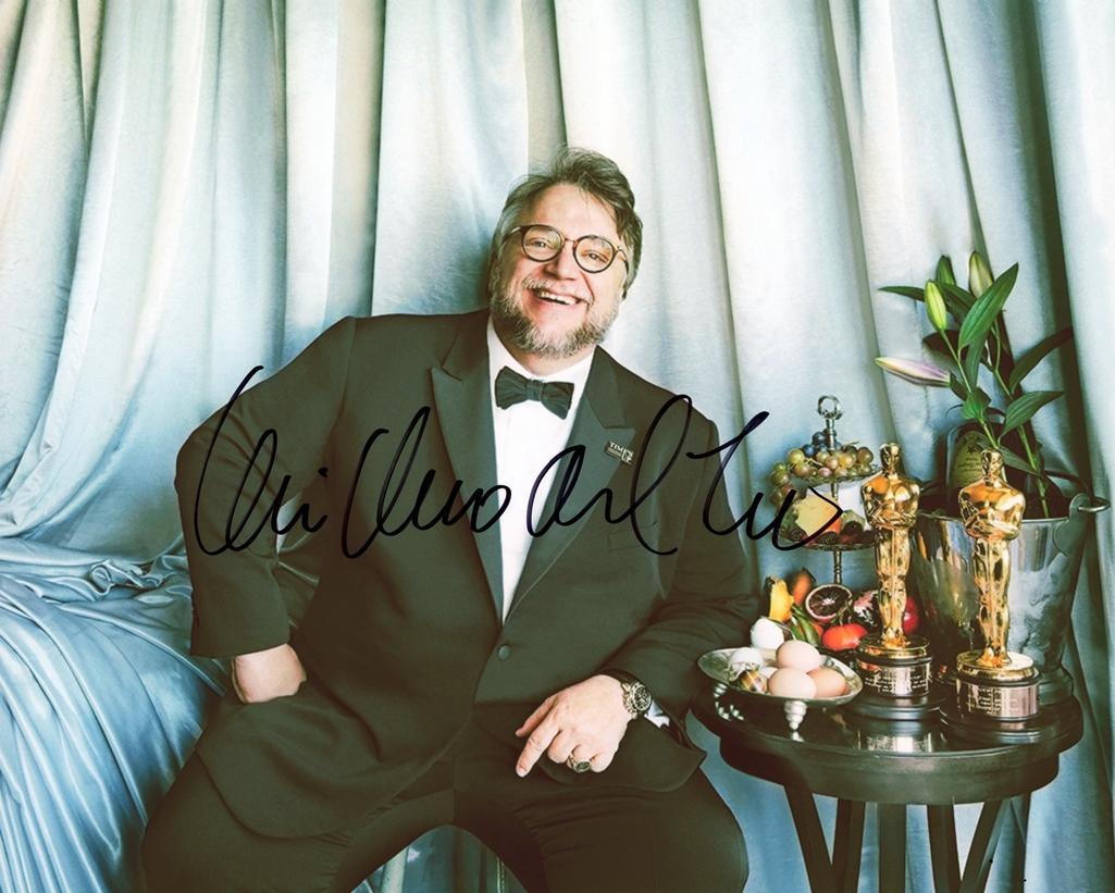 Guillermo Del Toro Signed Photo