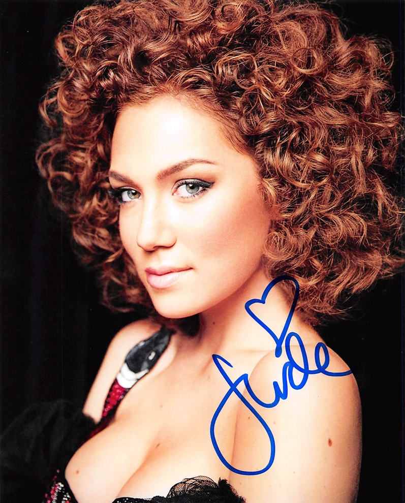 Jude Demorest Signed Photo