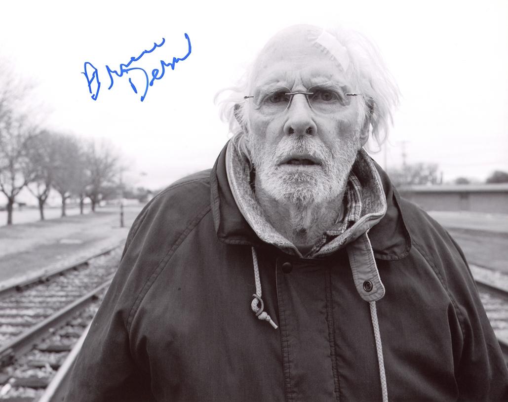 Bruce Dern Signed Photo