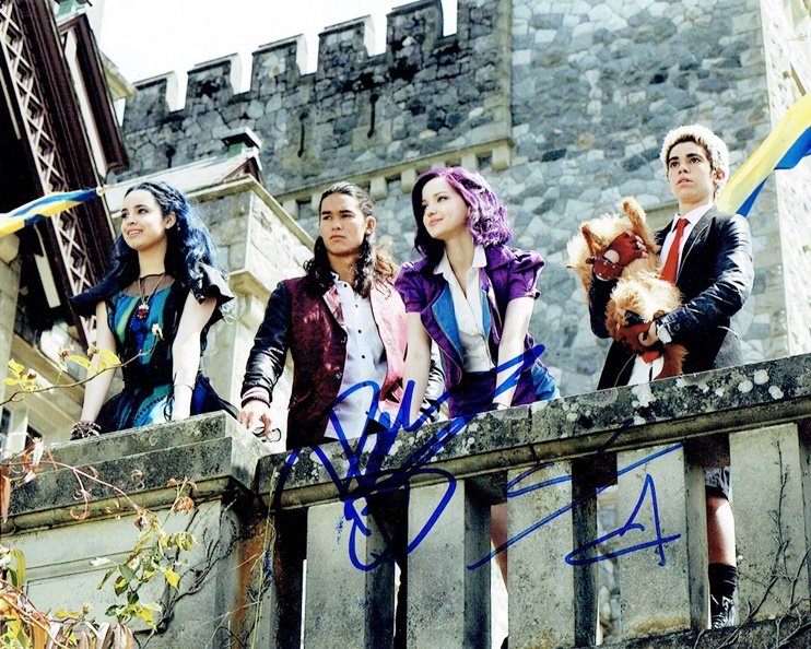 Descendants Cast Signed Photo