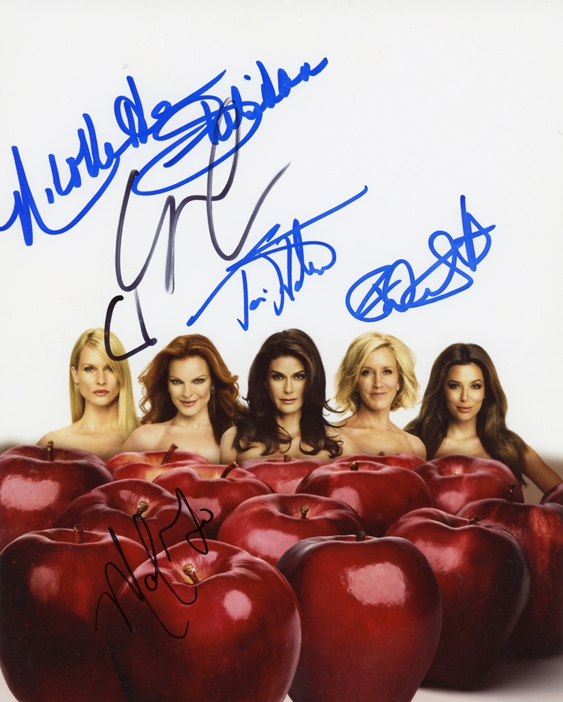 Desperate Housewives Signed Photo