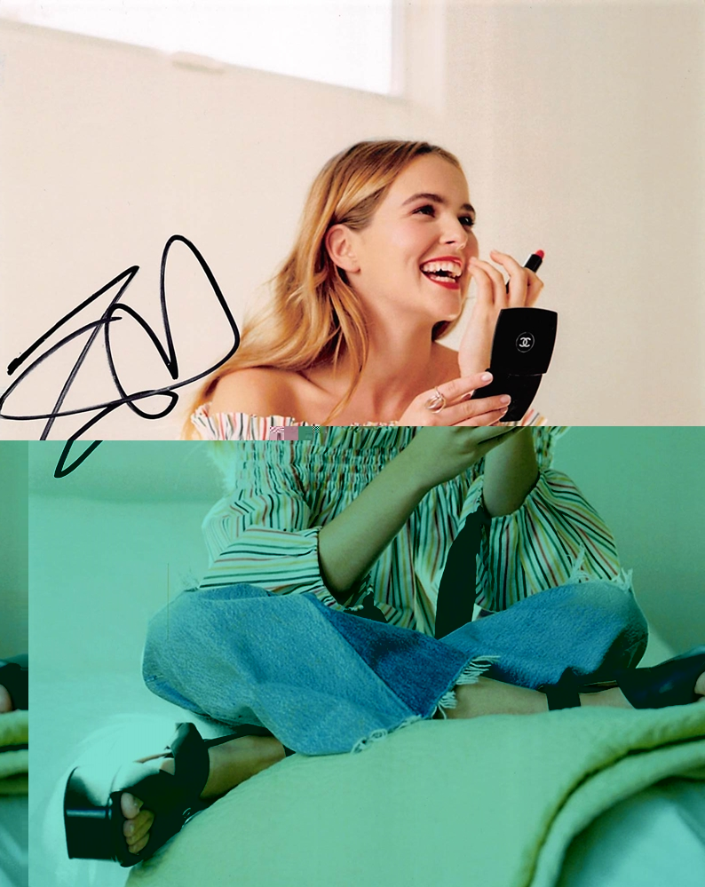 Zoey Deutch Signed Photo