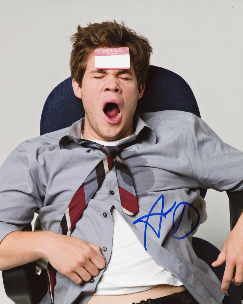Adam Devine Signed Photo