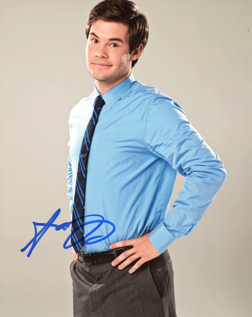 Adam Devine Signed Photo