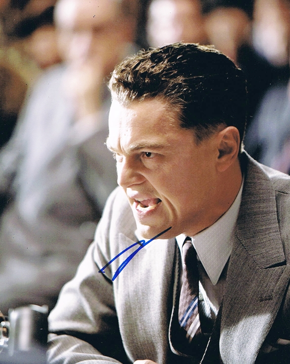 Leonardo DiCaprio Signed Photo