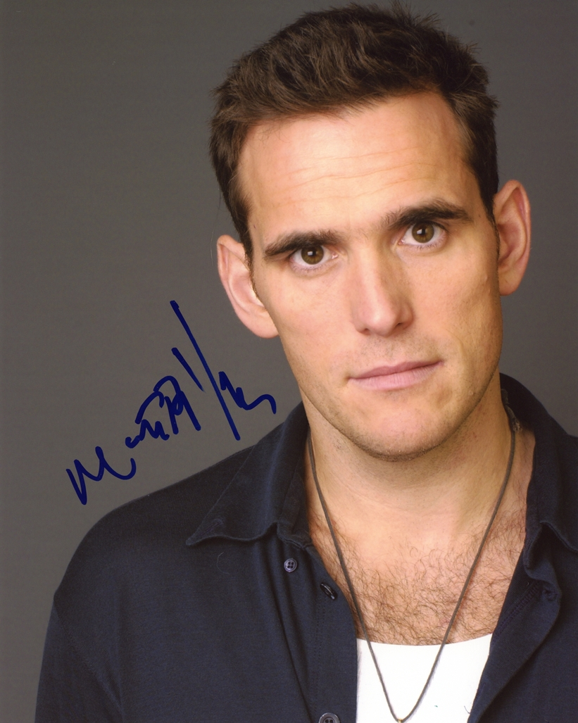 Matt Dillon Signed Photo