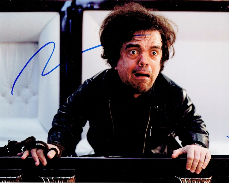 Peter Dinklage Signed Photo
